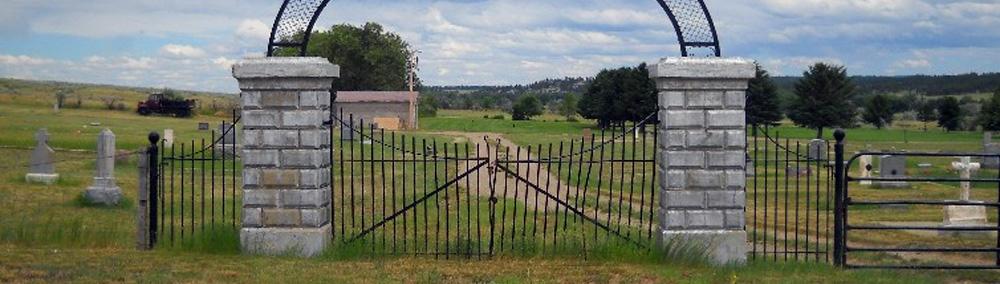 Cemetery near Roundup Montana