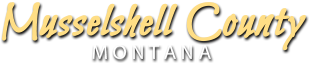 Musselshell County logo Seal montana
