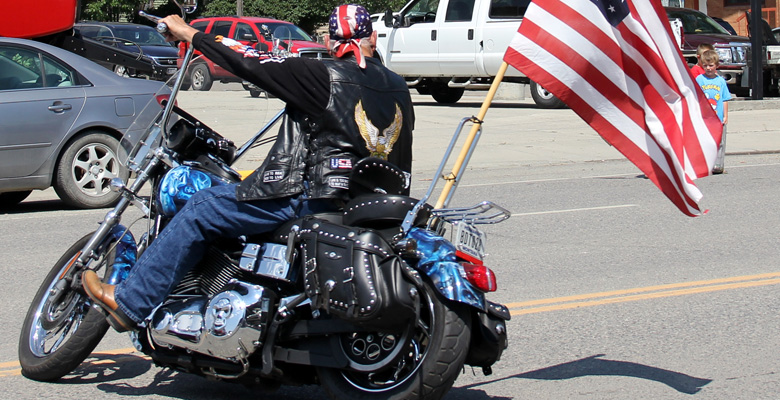 Harley Tours Montana Roundup Parade Musselshell County